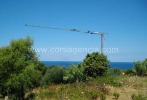 Terrain à vendre vue mer Ile Rousse Corbara