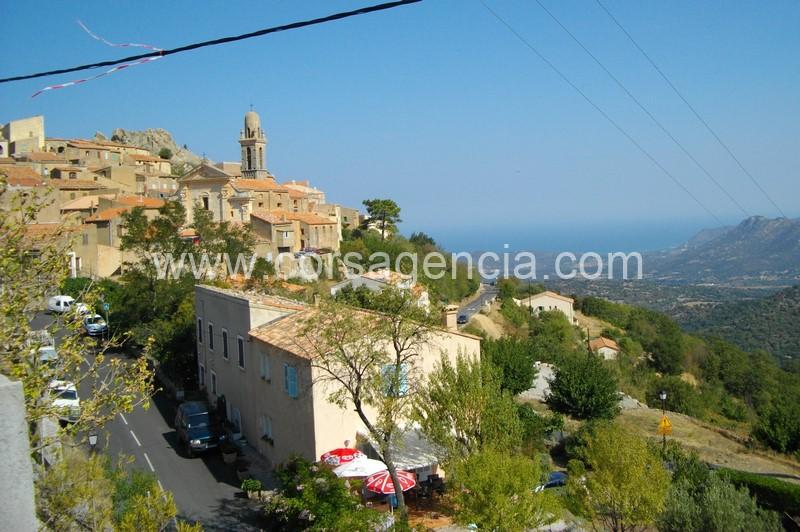 Speloncato maison de village a vendre avec vue mer balagne for Location garage ile rousse