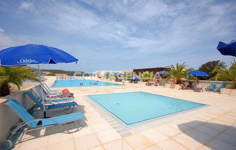 vente appartement T3 avec piscine lozari balagne corse